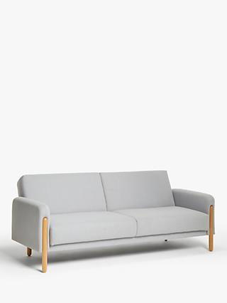 Show Wood Range, House by John Lewis Show Wood Sofa Bed, Light Leg