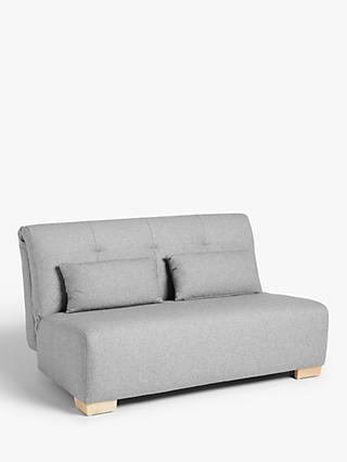 Block Range, John Lewis & Partners Block Large Sofa Bed, Light Leg