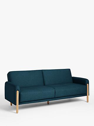 House by John Lewis Show Wood Sofa Bed, Light Leg