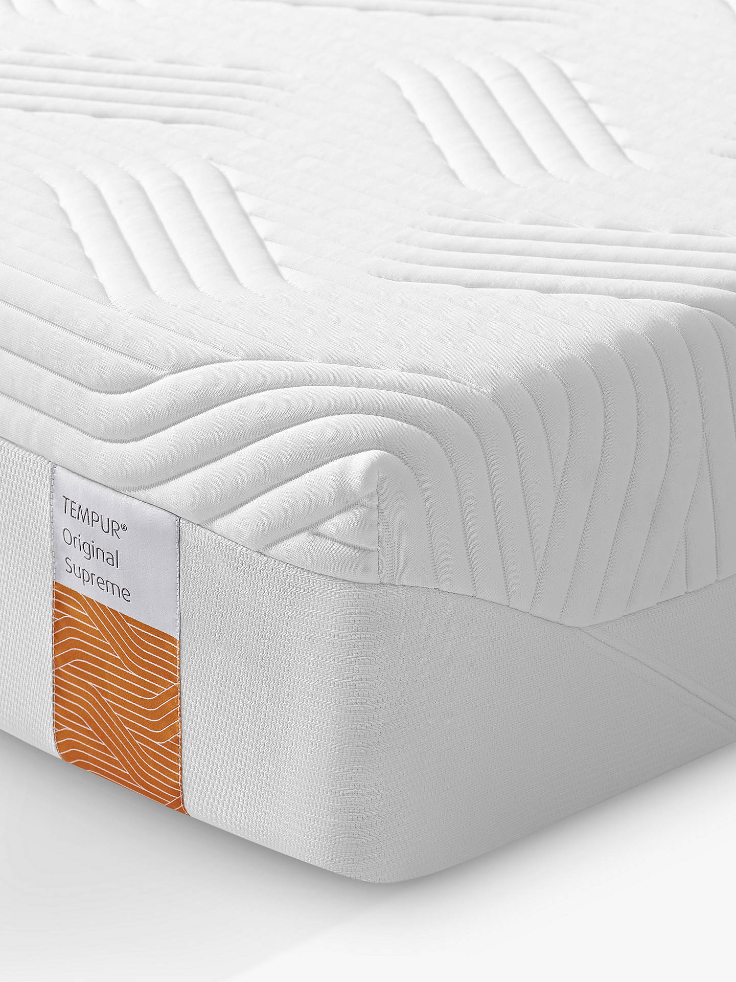 Buy Tempur Original Supreme Memory Foam Mattress, Medium Tension, Double Online at johnlewis.com