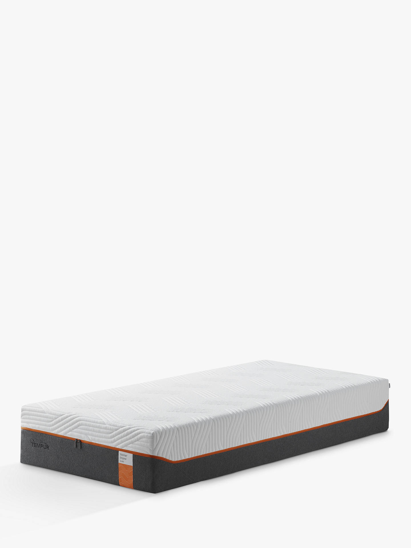 Buy Tempur Original Luxe Memory Foam Mattress, Medium Tension, Small Single Online at johnlewis.com