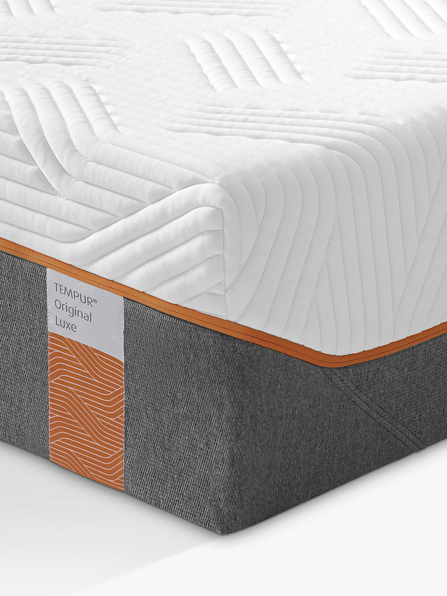Buy Tempur Original Luxe Memory Foam Mattress, Medium Tension, Extra Long Single Online at johnlewis.com