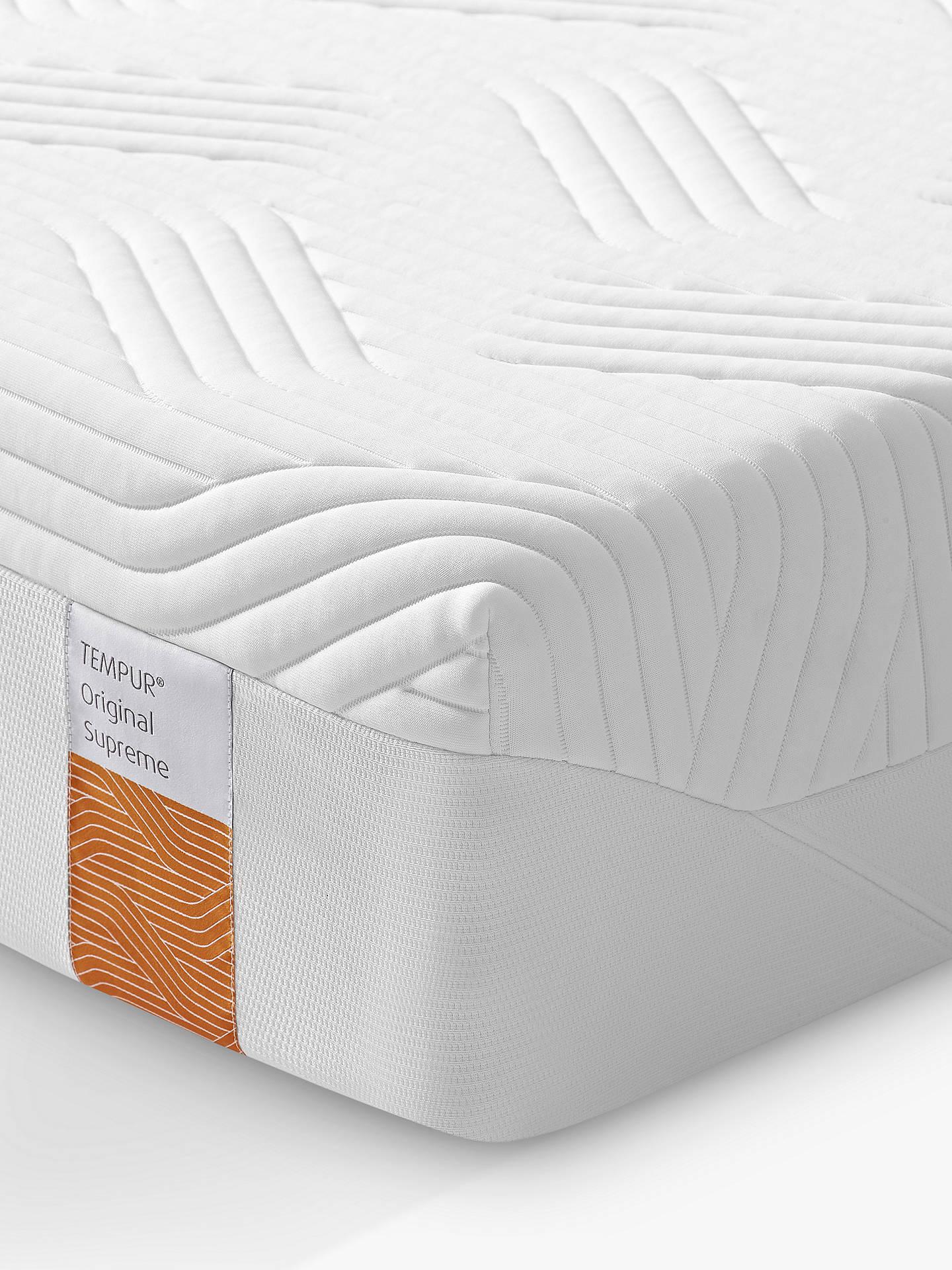 size 40 25f4c f1646 Tempur Original Supreme Memory Foam Mattress, Firm Tension, Super King Size