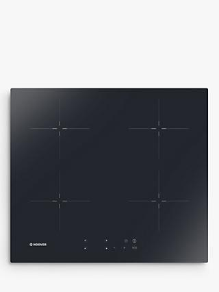 Hoover HIC642 Vitroceramic Induction Hob, Black