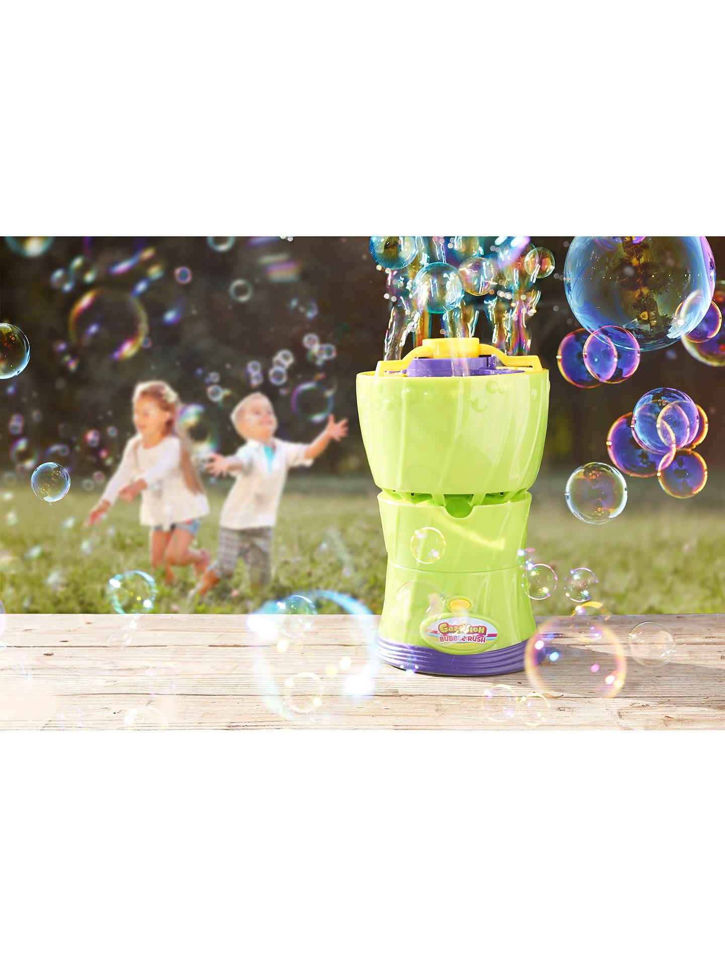 Buy Gazillion Bubbles Flash-N-Spin Online at johnlewis.com
