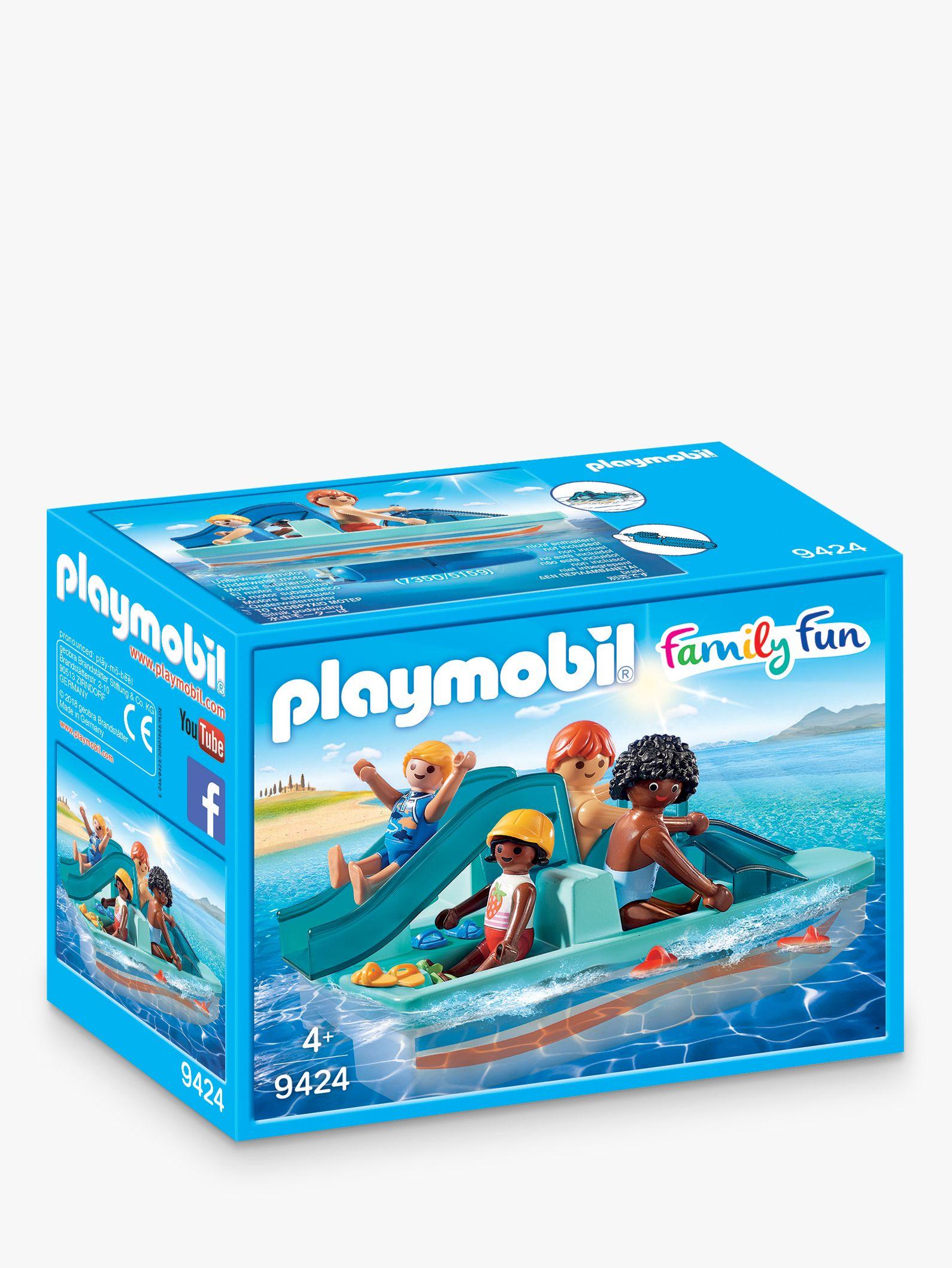 PLAYMOBIL Playmobil Family Fun 9424 Floating Paddle Boat