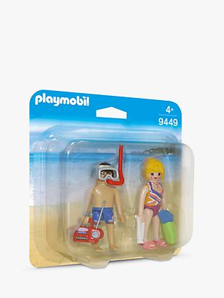 Playmobil Family Fun 9449 Beachgoers Duo Pack