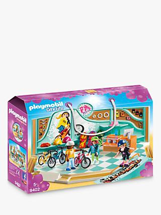 Playmobil City Life 9402 Bike and Skate Shop