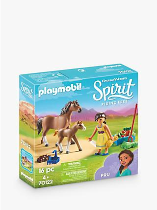 Playmobil Dreamworks Spirit Riding Free 70122 Pru with Horse and Foal