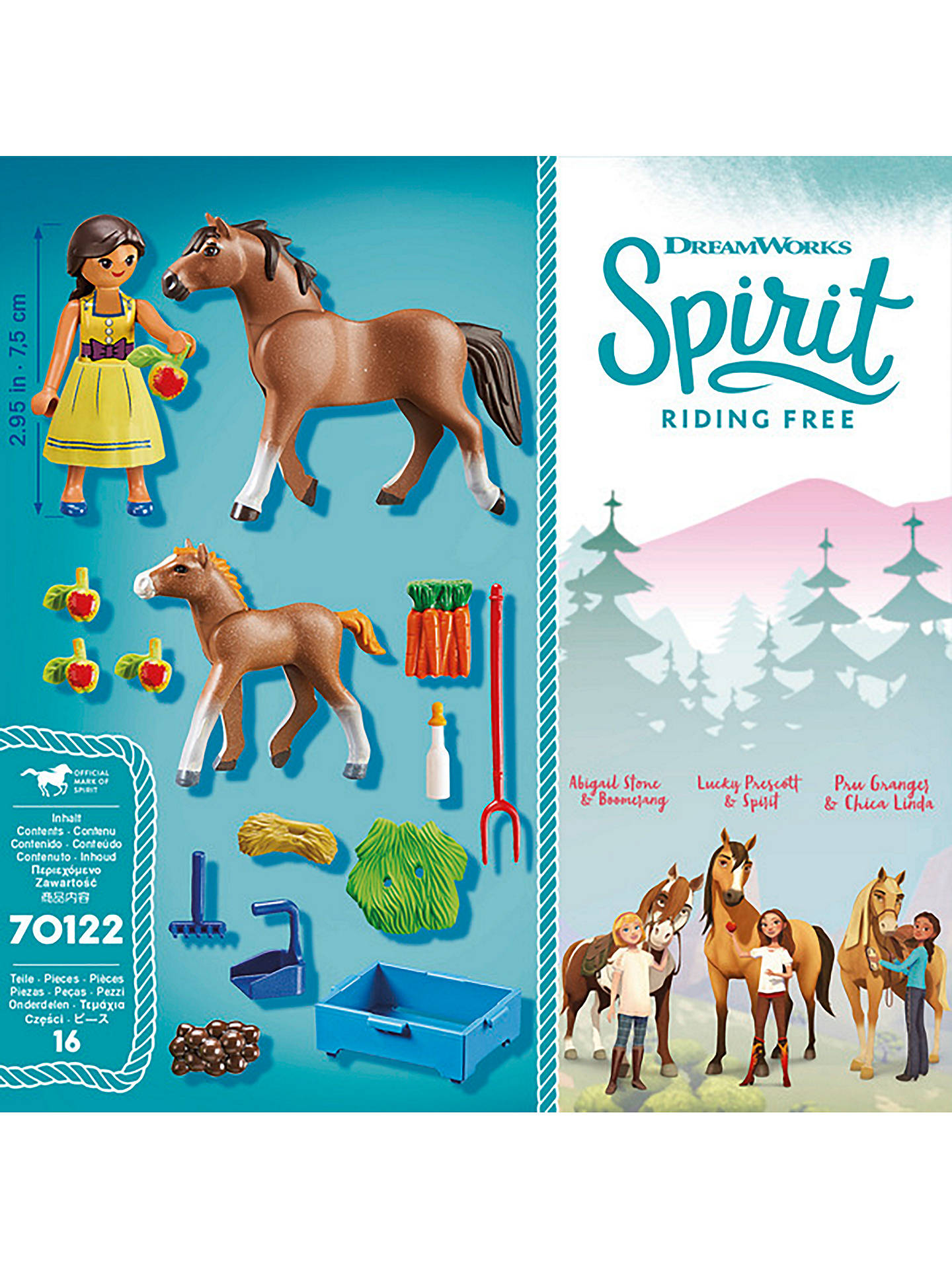 Playmobil Dreamworks Spirit Riding Free 70122 Pru With Horse And
