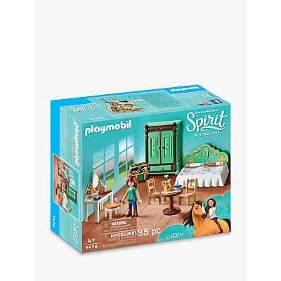 Playmobil Dreamworks Spirit Riding Free 9465 Luckys Bedroom