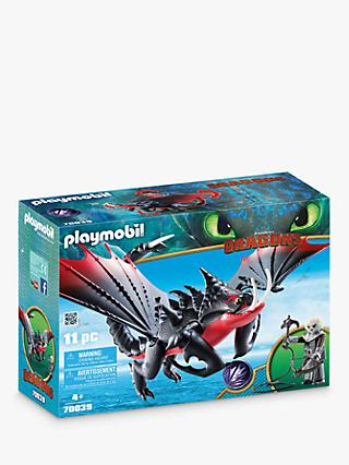 Playmobil Dragons 70039 Deathgripper and Grimmel Play Set