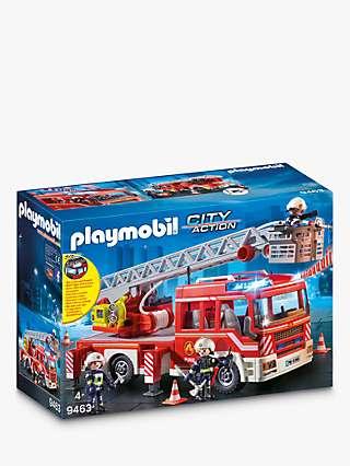 Playmobil City Action 9463 Fire Ladder Unit