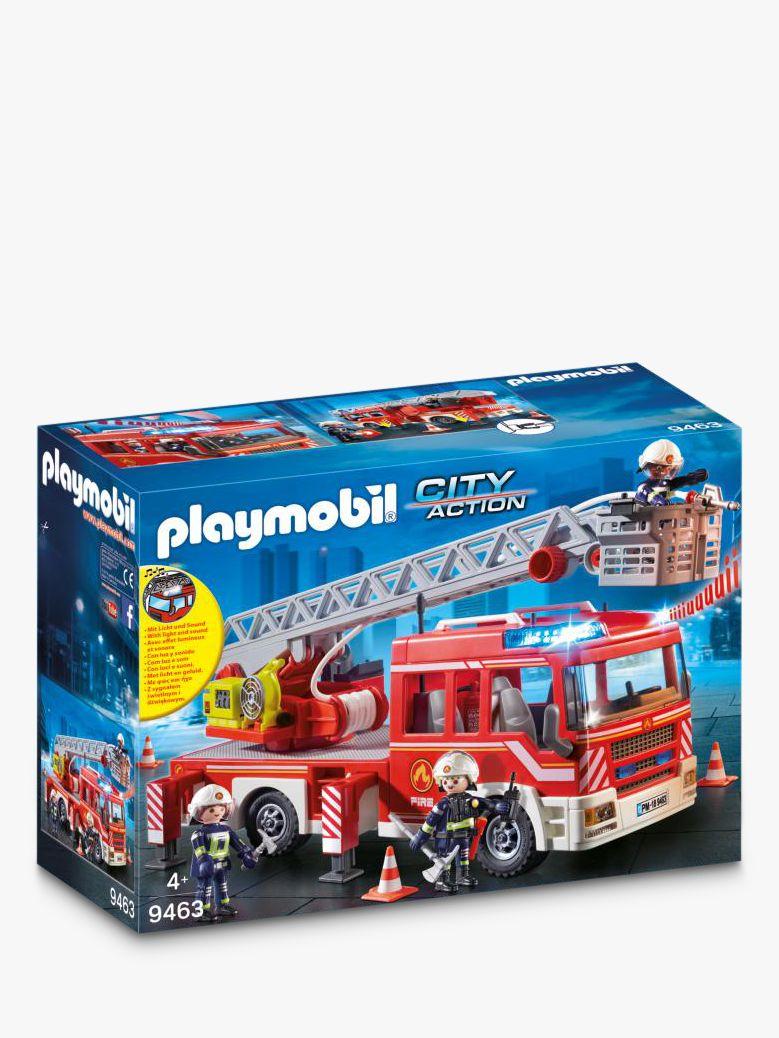 PLAYMOBIL Playmobil City Action 9463 Fire Ladder Unit