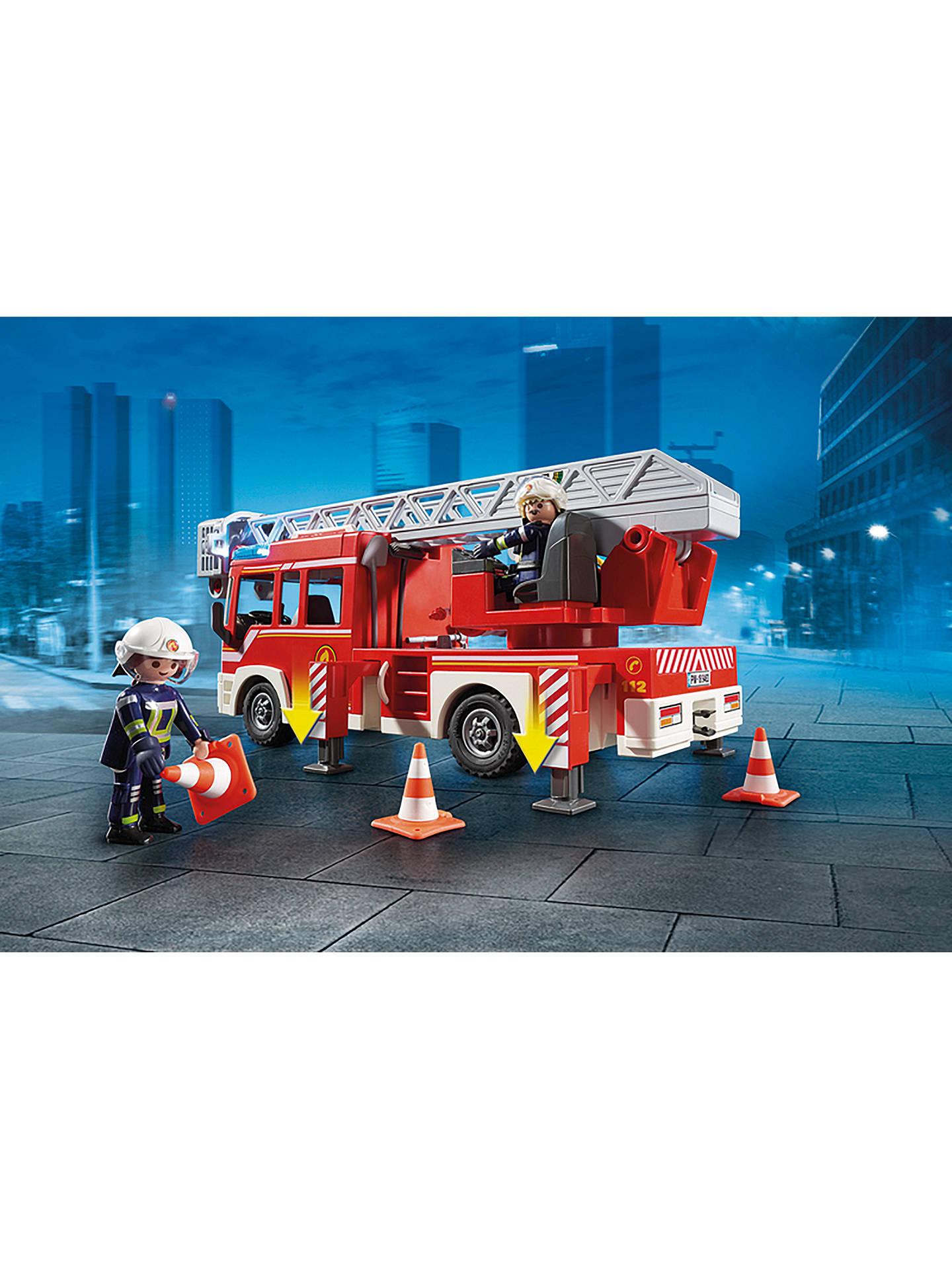 PLAYMOBIL/® Fire Ladder Unit 9463