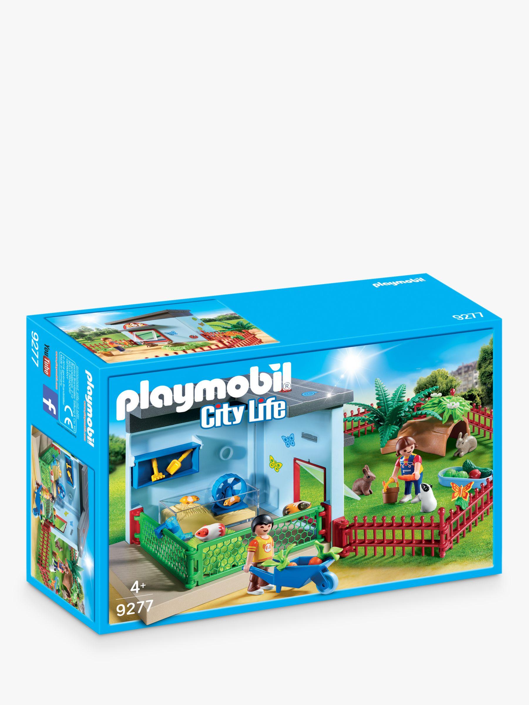 PLAYMOBIL Playmobil City Life 9277 Small Animal Boarding