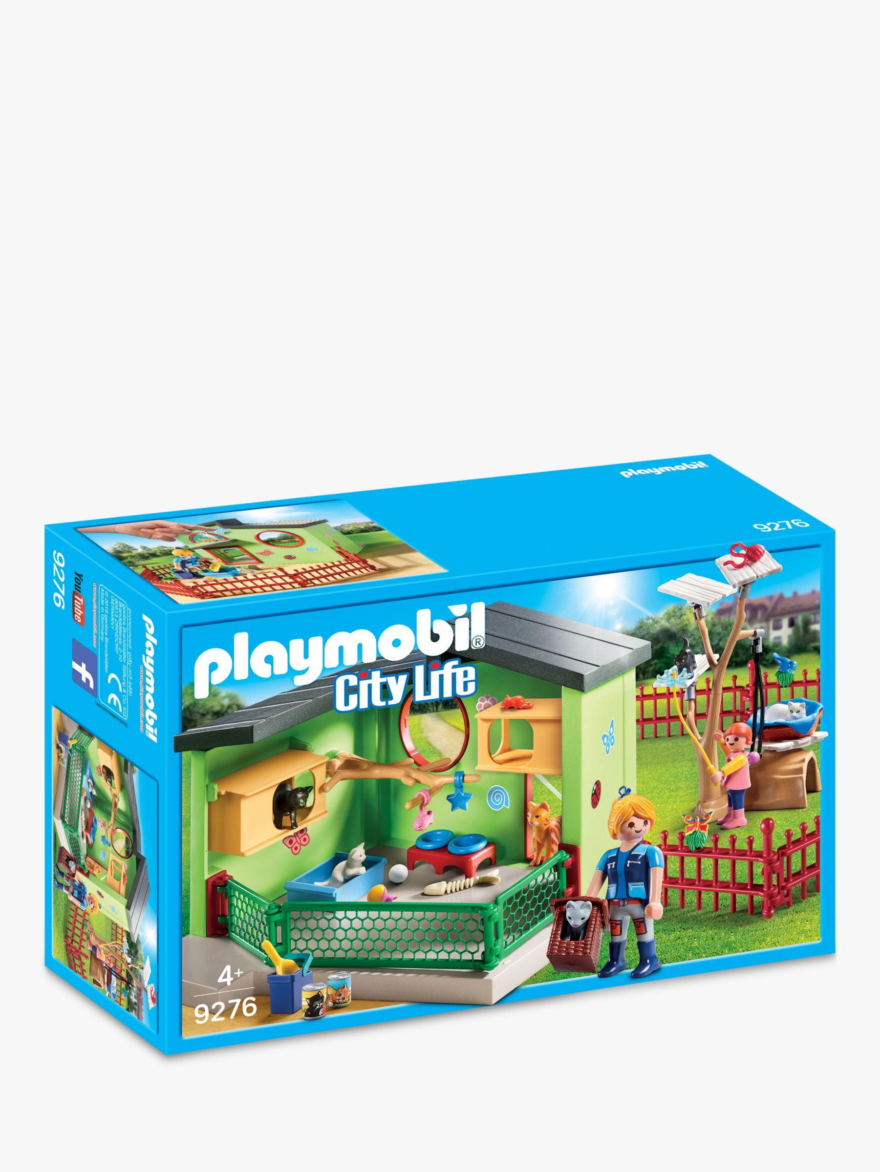 PLAYMOBIL Playmobil City Life 9276 Purrfect Stay Cat Boarding