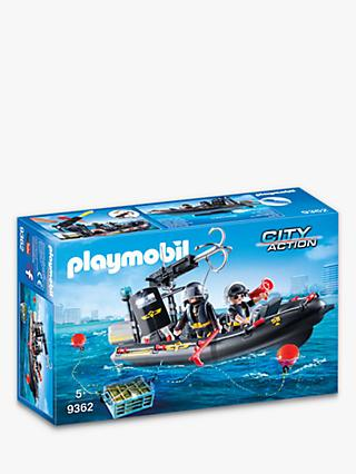 Playmobil City Action 9362 SWAT Boat