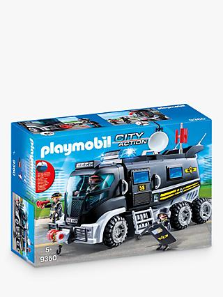 Playmobil City Action 9360 SWAT Truck