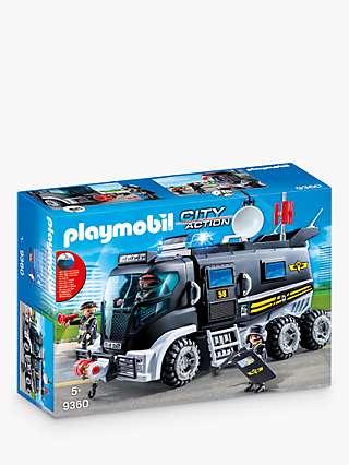 Playmobil City Action 9360 SWAT Truck