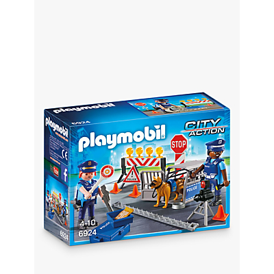 Playmobil City Action 6924 Police Roadblock