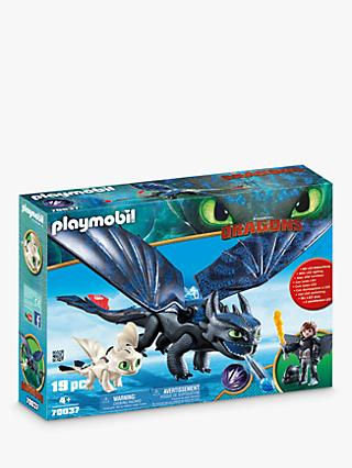 Playmobil Dragons 70037 Hiccup and Toothless with Baby