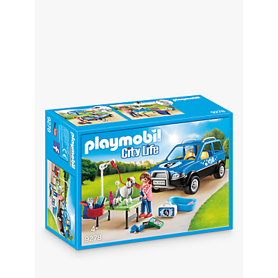 Playmobil City Life 9278 Mobile Pet Groomer