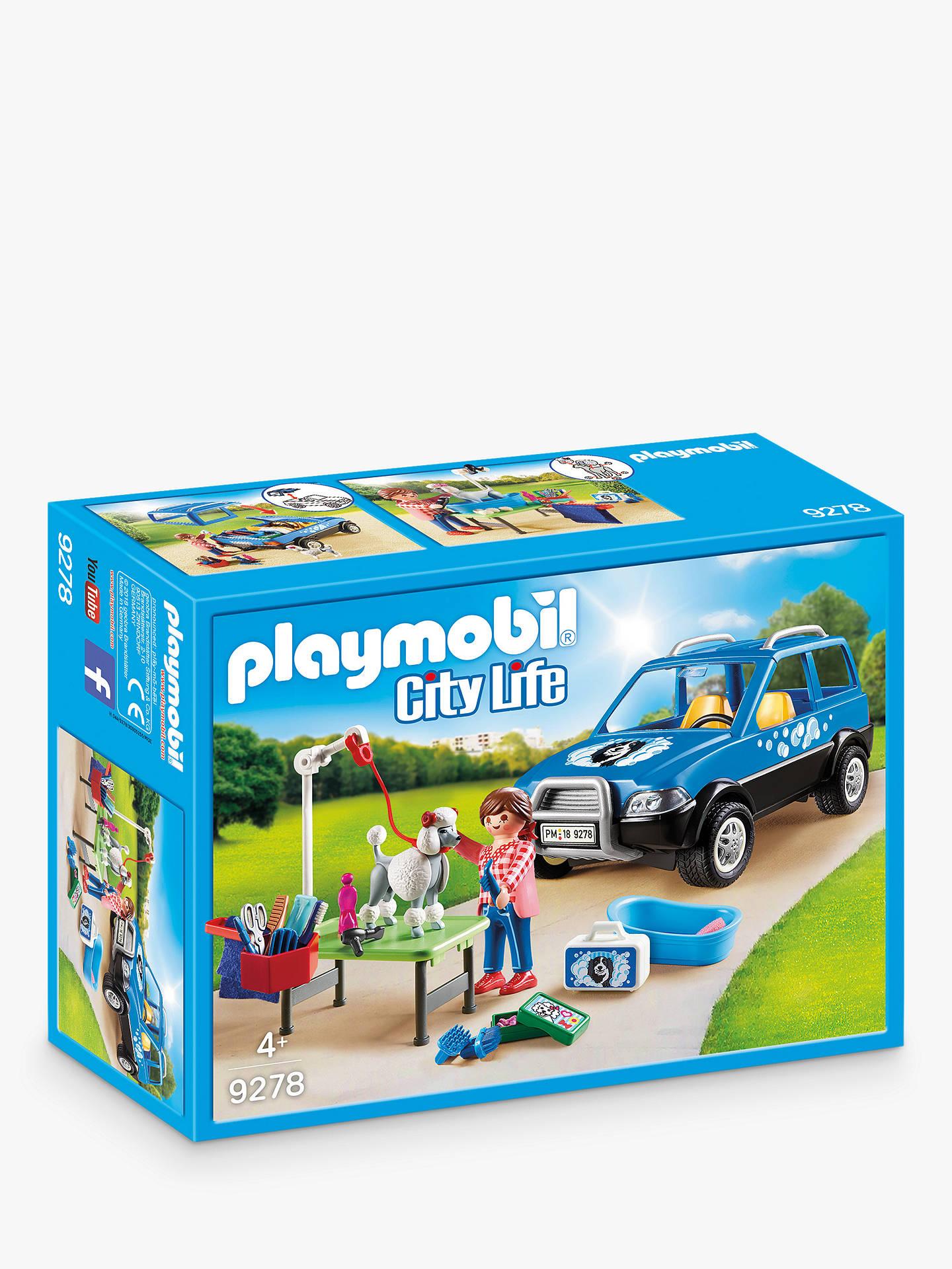 Playmobil City Life 9278 Mobile Pet Groomer at John Lewis & Partners