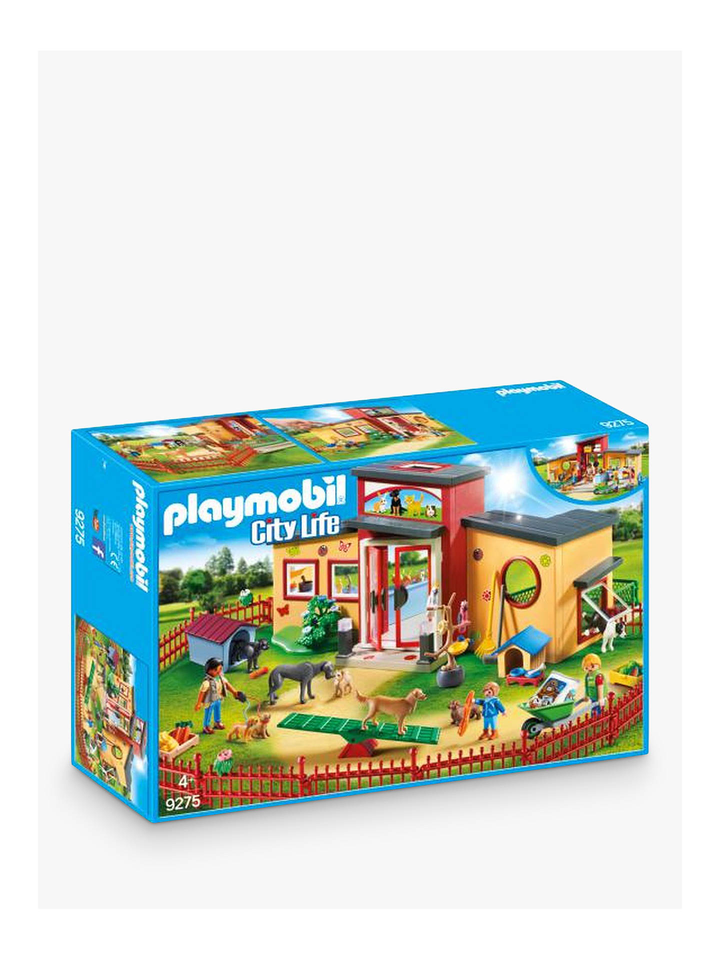 Buy Playmobil City Life 9275 Tiny Paws Pet Hotel Online at johnlewis.com