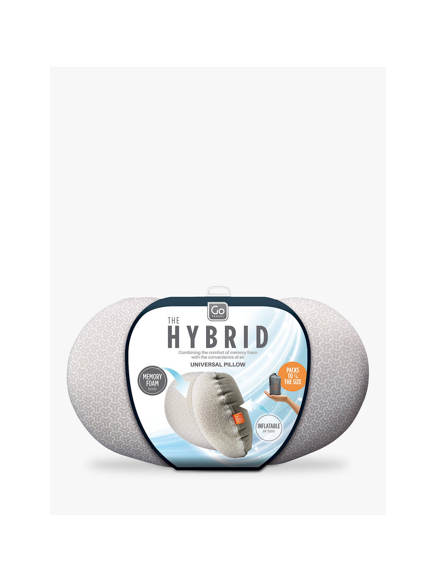 Go Travel Hybrid Universal Pillow at