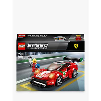 LEGO Speed Champions 75886 Ferrari 488 GT3 Scuderia Corsa Racing Car