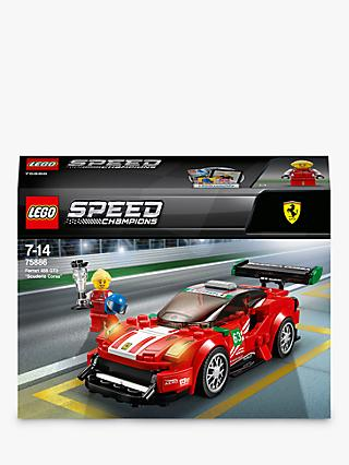 LEGO Speed Champions 75886 Ferrari 488 GT3 Scuderia Corsa Racing Car