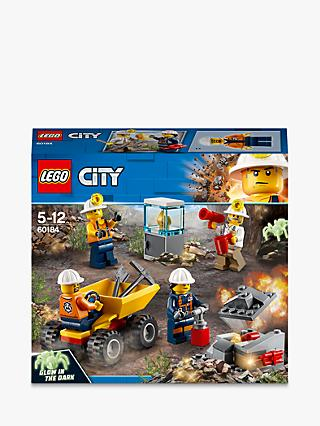 LEGO City 60184 Mining Team Playset with Truck