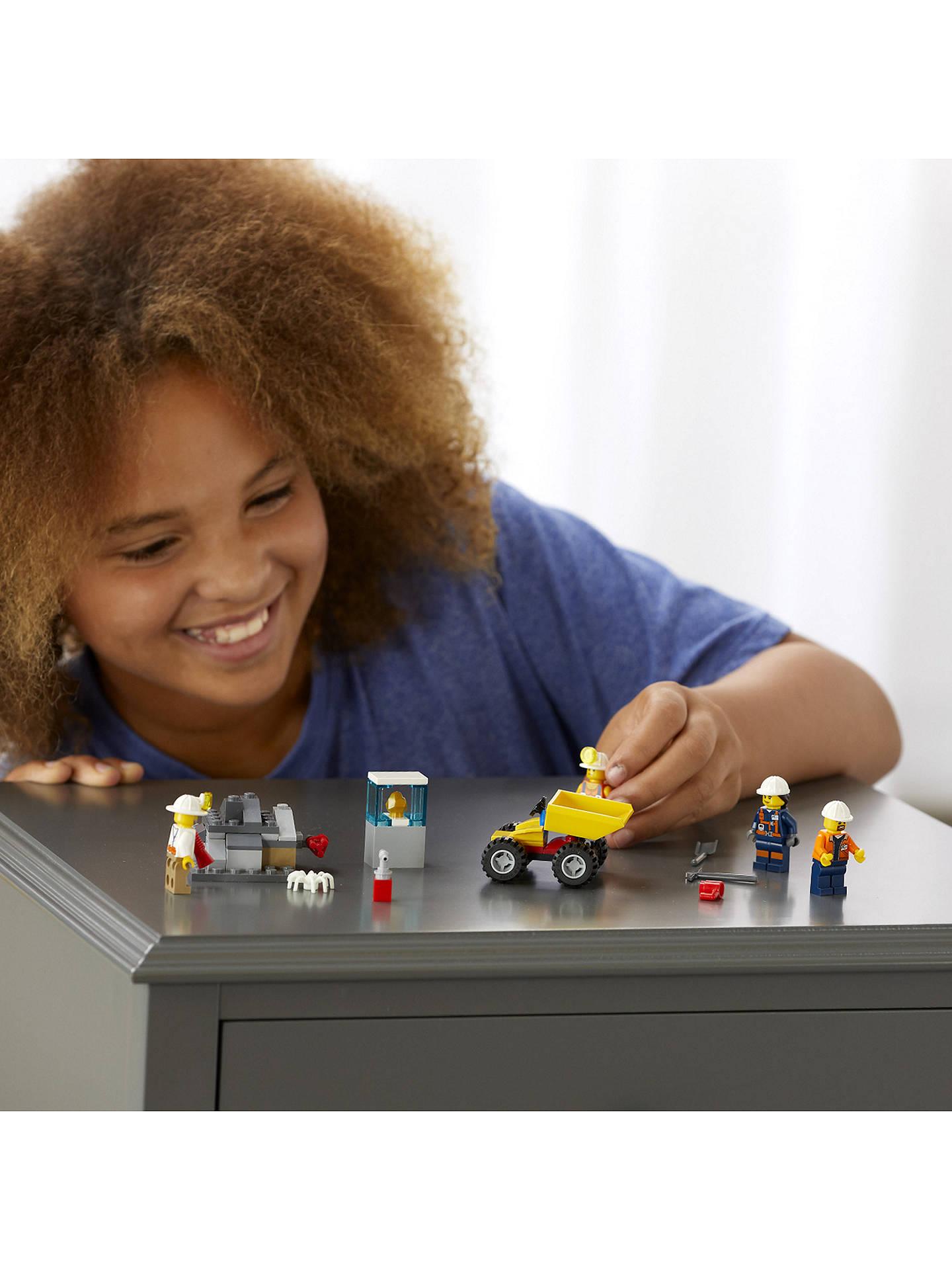 LEGO CITY NEW Female Mining Worker 60184 Minifigure Mining Team