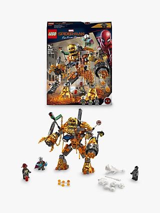 LEGO Marvel Spider-Man 76128 Molten Man Battle
