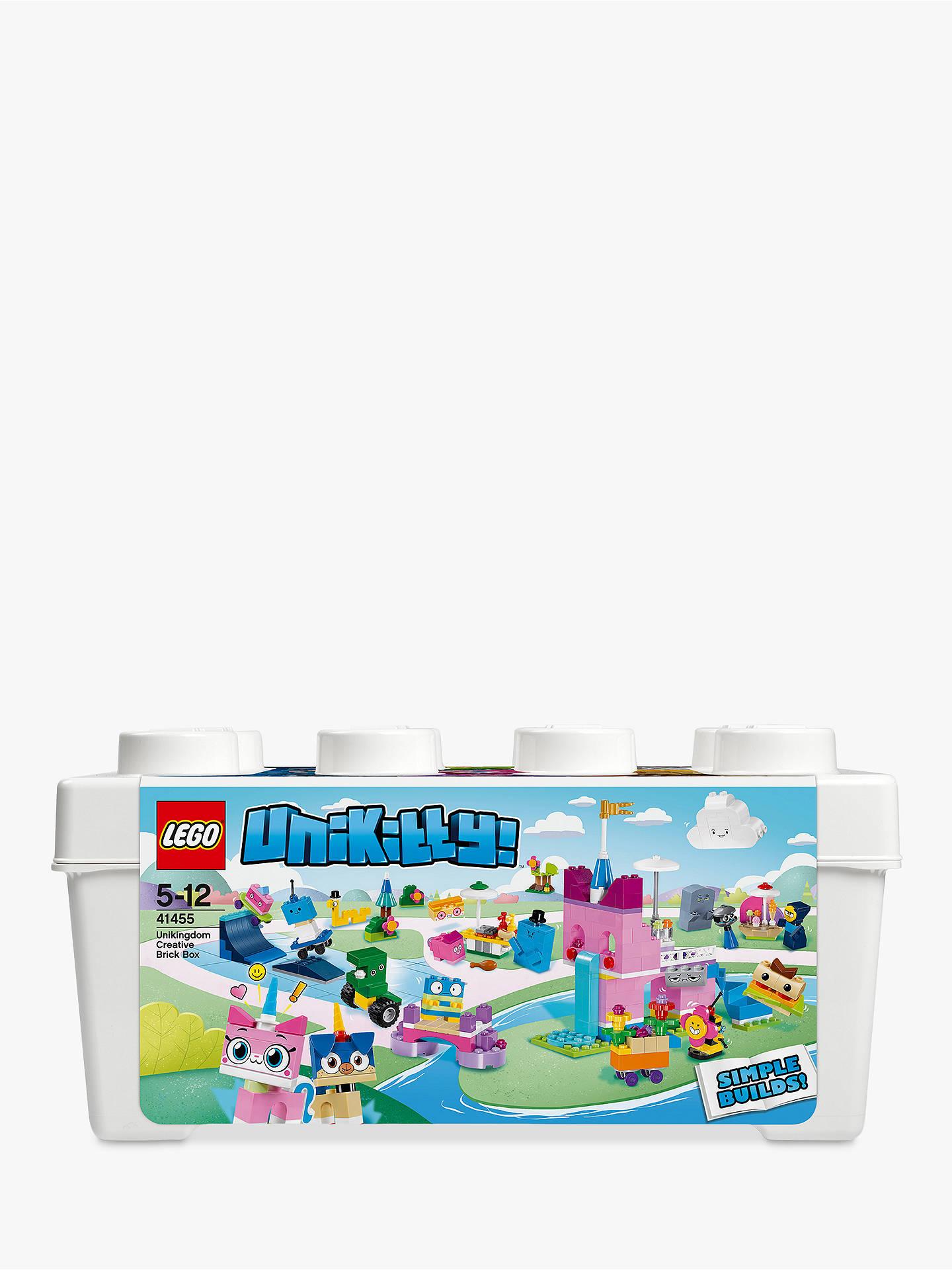 Brand New Unikingdom Creative Brick Box LEGO Unikitty 41455