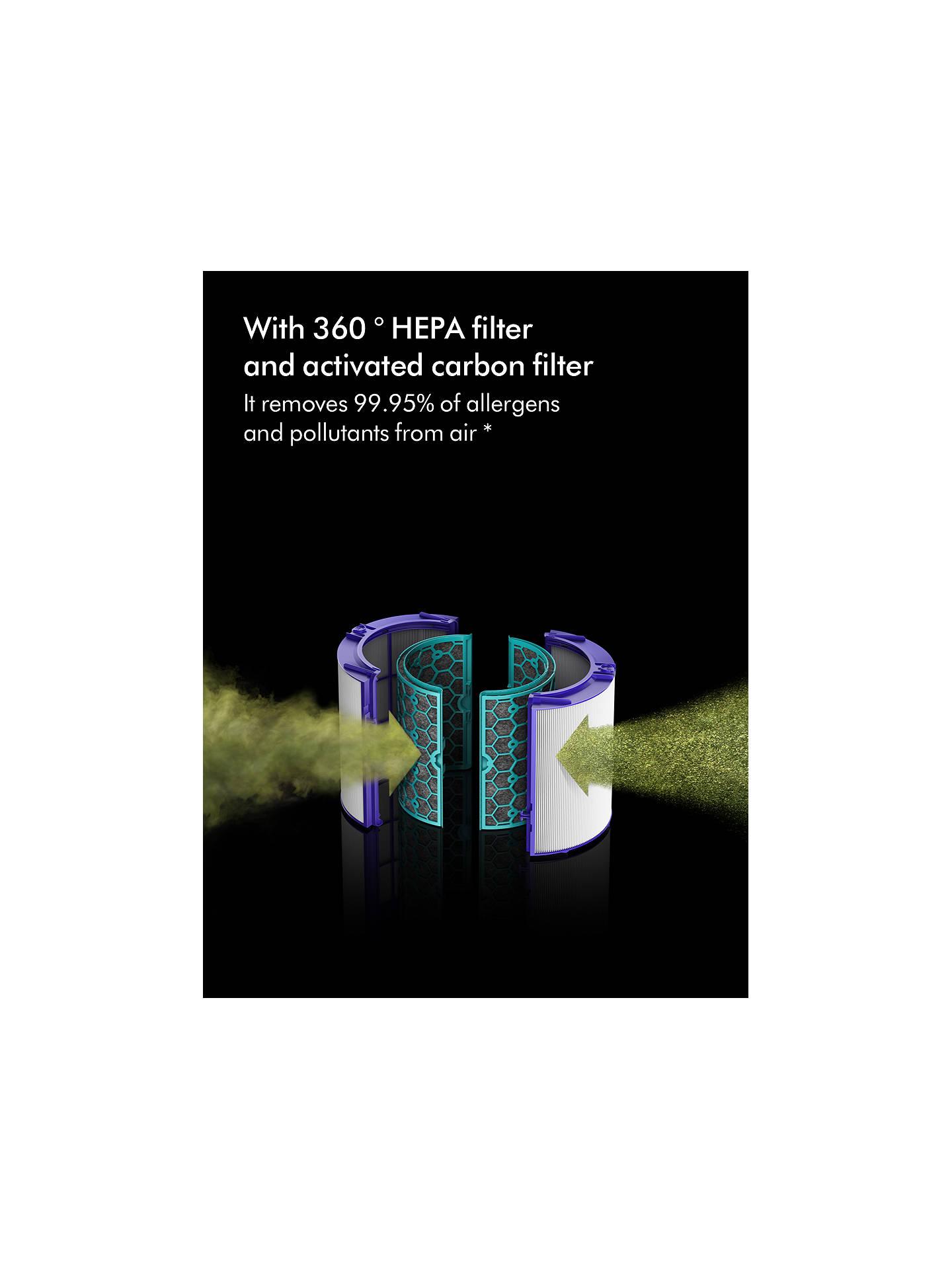 Dyson HP04 Pure Hot + Cool Fan Heater Air Purifier