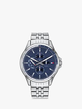 0eb9cb82a09 Tommy Hilfiger Men s Casual Chronograph Bracelet Strap Watch
