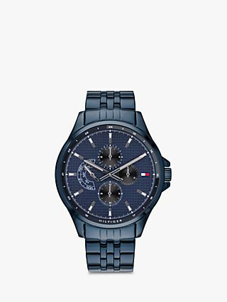 299bf18e766 Tommy Hilfiger Men s Casual Chronograph Bracelet Strap