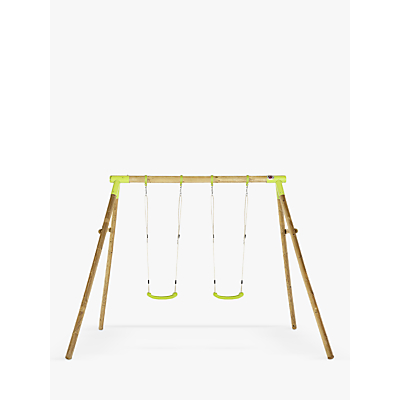 Plum Premium Marmoset Wood Double Swing