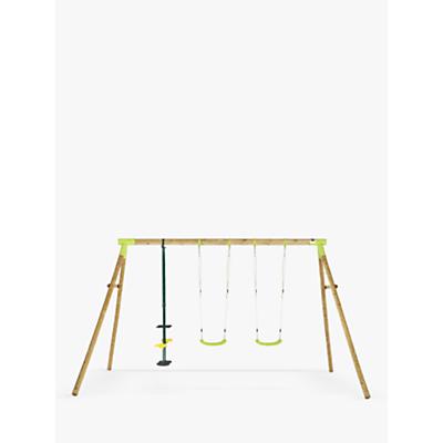 Plum Premium Colobus Wood Swing Set
