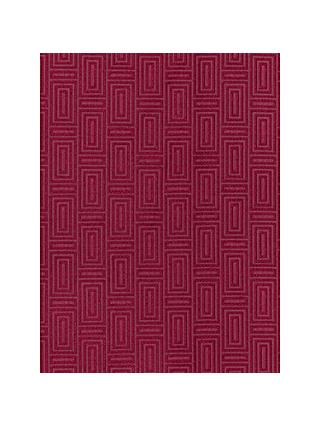 John Lewis & Partners Kalambo Made to Measure Curtains, Garnet