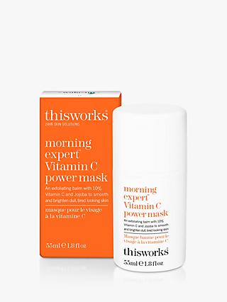This Works Morning Expert Vitamin C Power Mask, 55ml