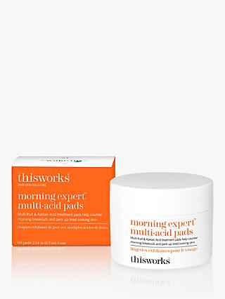 This Works Morning Expert Multi-Acid Pads, x 60