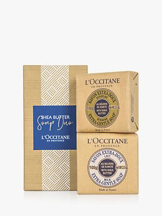 L'Occitane Shea Soap Duo Gift Set