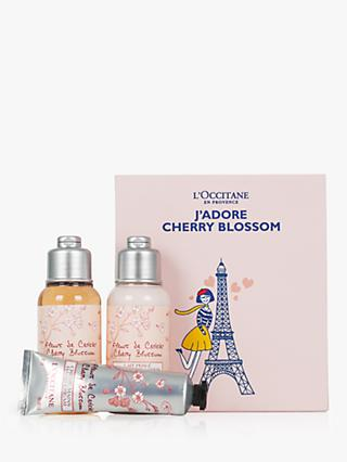 L'Occitane J'Adore Cherry Blossom Collection Bodycare Gift Set