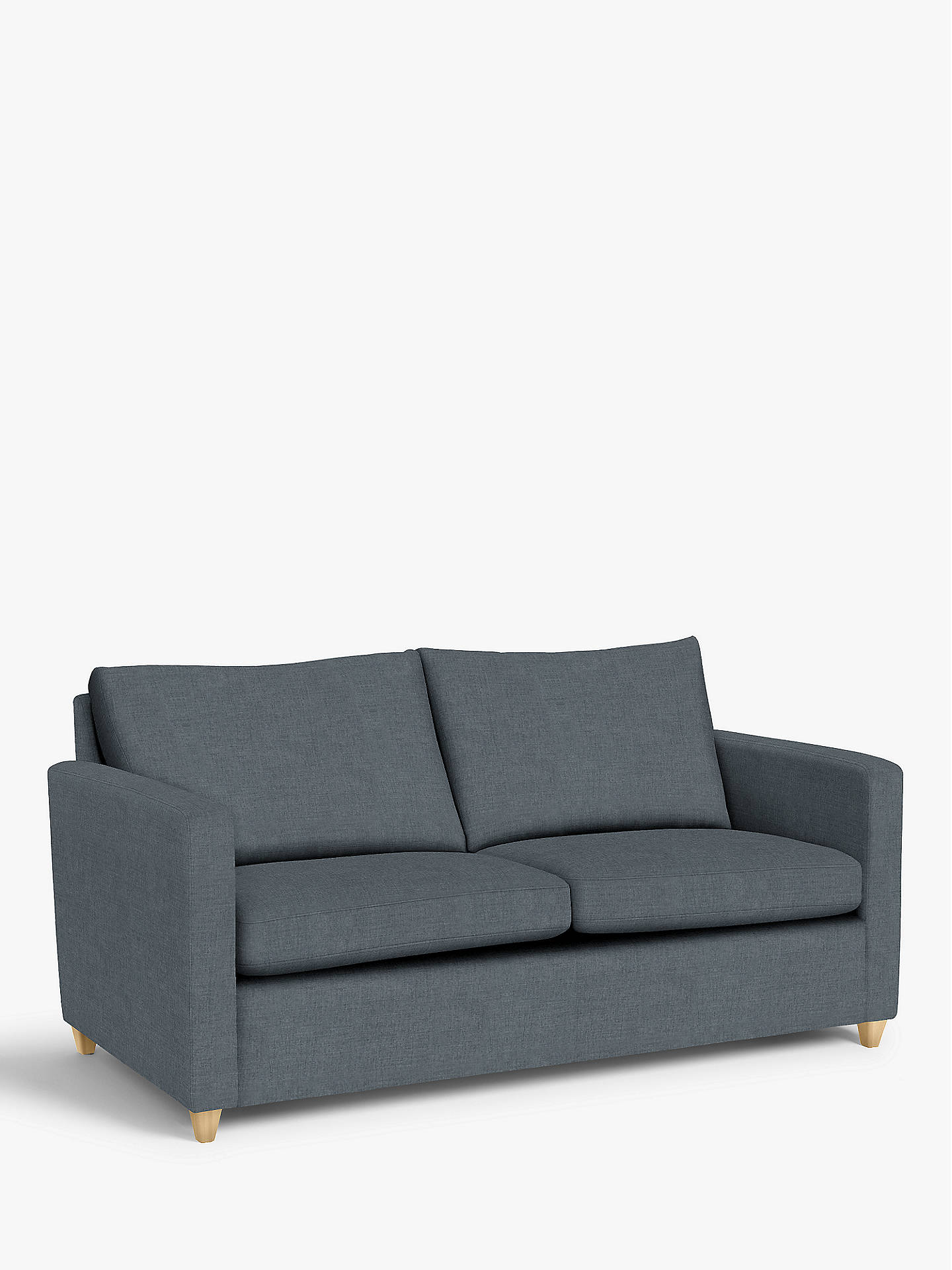 Prime John Lewis Partners Bailey Double Sofa Bed Light Leg Hatton Steel Bralicious Painted Fabric Chair Ideas Braliciousco