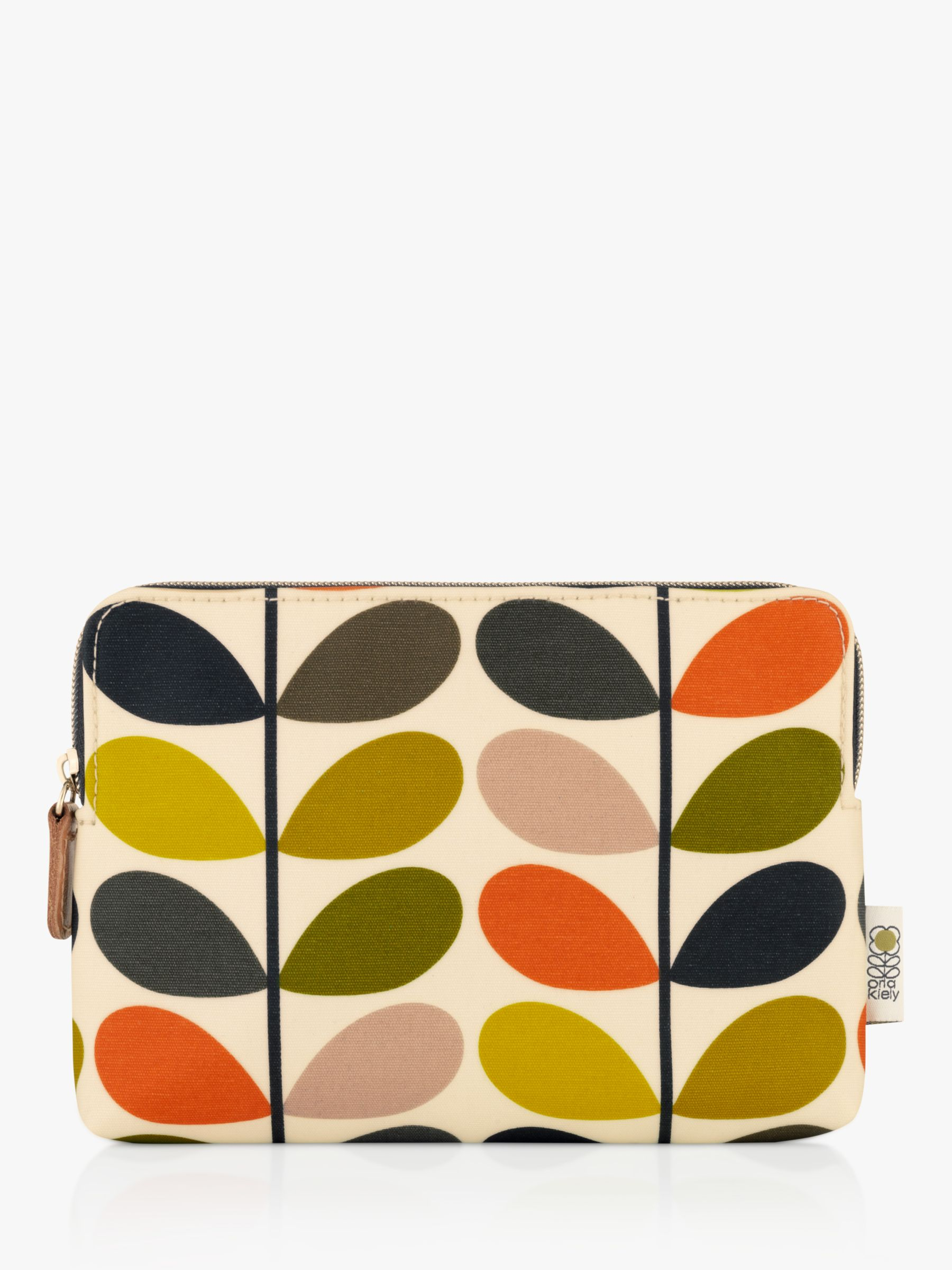 Buy Orla Kiely Stem Print Cosmetic Pouch, Multi Online at johnlewis.com