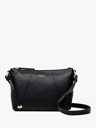 Radley Wood Street Medium Leather Zip Top Cross Body Bag e379b3f5fd077