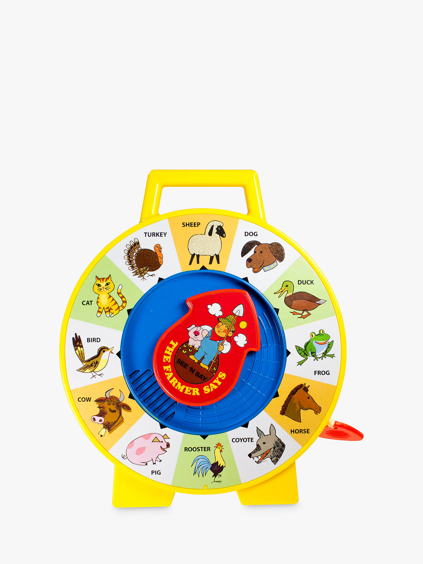 c6e1dd66d0 Buy Fisher-Price Classics See  N Say The Farmer Says Online at johnlewis.